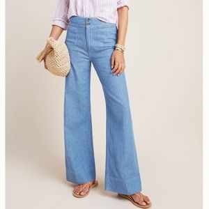 ANTHRO Pilcro & the Letterpress Trouser Jeans NWT